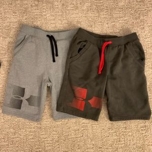 """Boys Under Armour """"Cold Gear"""" Sweat Shorts"""
